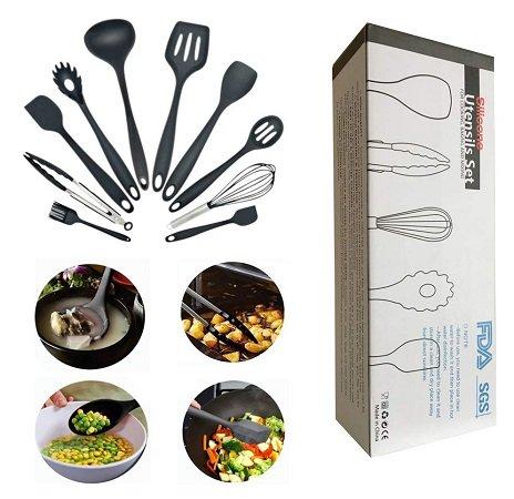Geerbu - 10er Set Küchenutensilien für 13,99€ inkl. VSK (Prime)