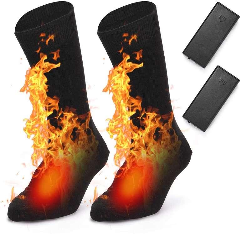 Lixada beheizbare Socken (Einheitsgröße) für 13,49€ inkl. Versand (statt 27€)