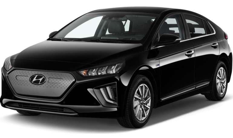 Privat & Gewerbe Leasing: Hyundai IONIQ Elektro mit 136 PS und Trend-Paket für 139€ brutto mtl. (LF 0,37)