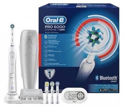 Braun Oral-B Pro 6000 Zahnbürste mit Bluetooth für 88€ (statt 102€)