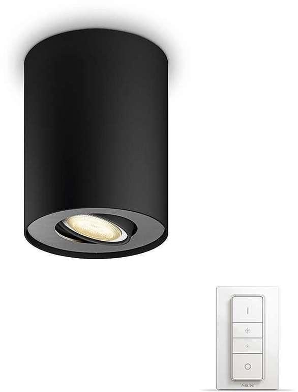 Philips Hue Pillar White Ambiance Deckenspot inkl. Hue Dimmschalter für 44,45€ (statt 60€)