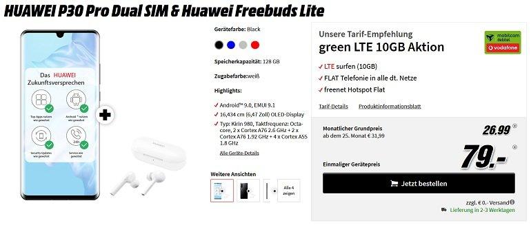 Huawei P30 Pro Dual SIM Vodafone LTE 10GB 2