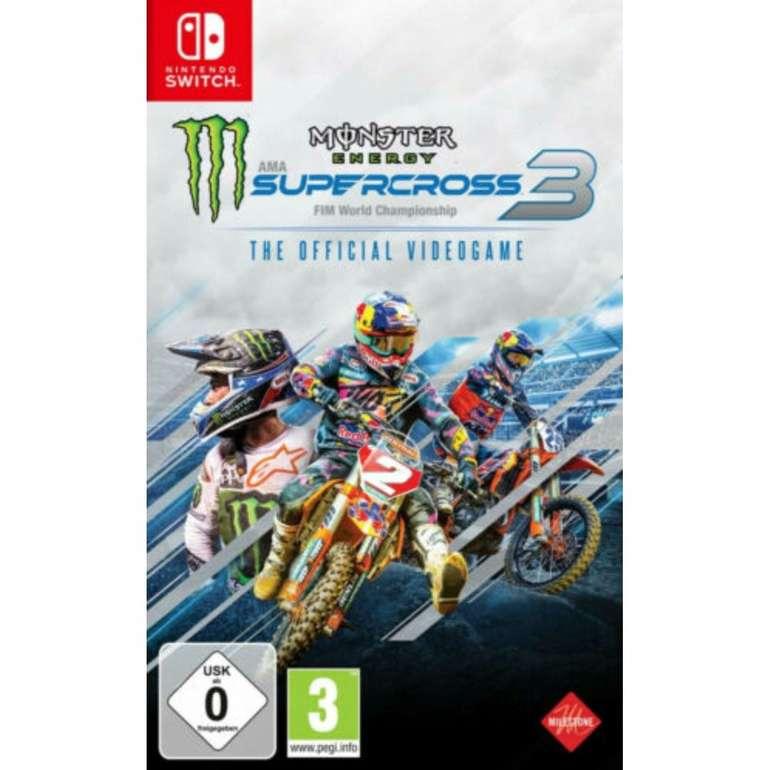 Monster Energy Supercross - The Official Videogame 3 (Nintendo Switch) für 34,99€ (statt 44€)