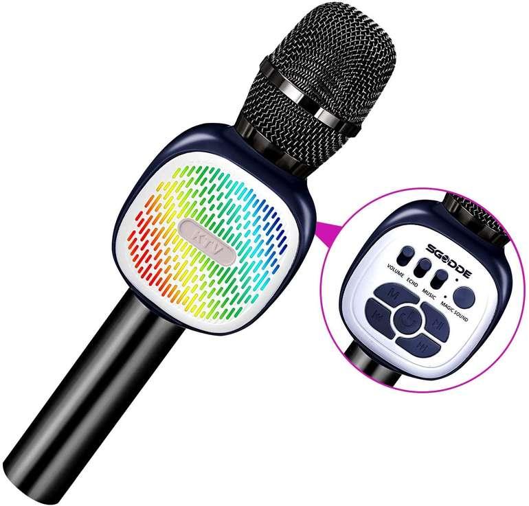 Sgodde Bluetooth Karaoke Mikrofon mit Lautsprecher für 13,93€ inkl. Prime Versand