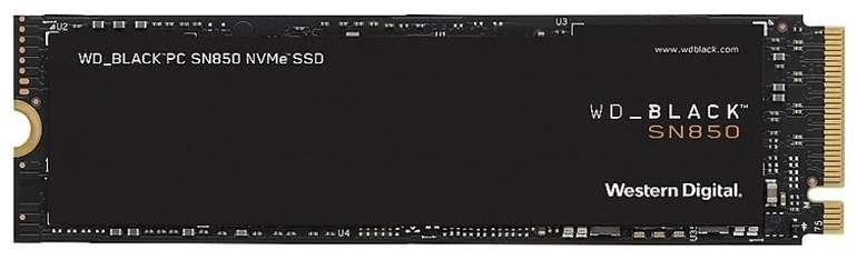 Western Digital SN850 NVMe SSD 500GB M.2 (3D-NAND TLC, R7000, W4100, PCIe 4.0 x4) für 84,90€ - Newsletter Gutschein!