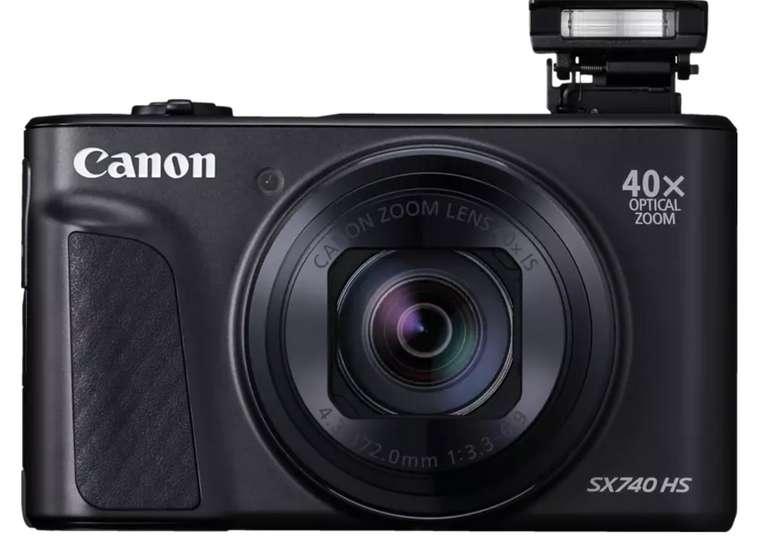 Canon PowerShot SX740 HS Digitalkamera (40fach opt. Zoom, WLAN) für 277€inkl. Versand (statt 311€)