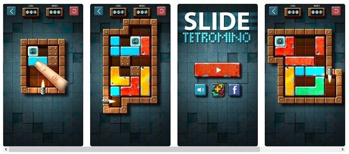 Slide Tetromino Premium für iOS kostenlos