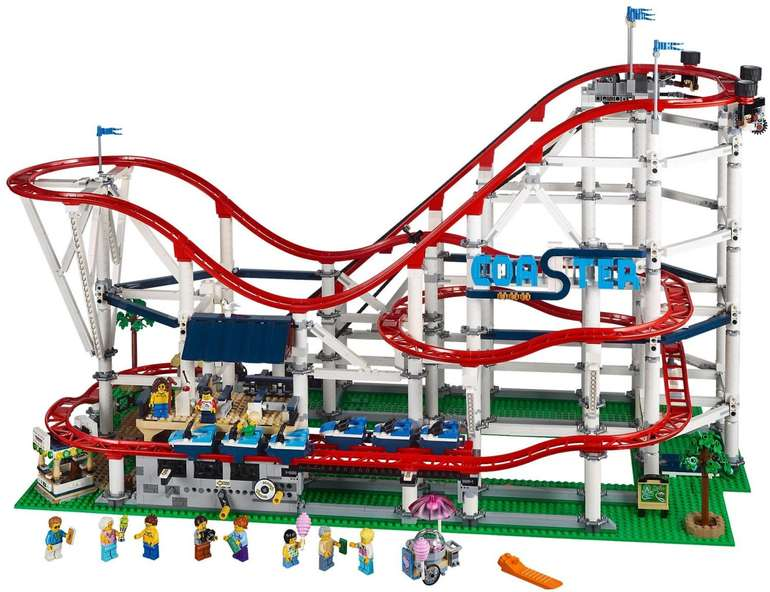 Lego Creator Achterbahn Set aus über 4.210 Teilen (10261) für 273,94€ inkl. Versand (statt 300€)