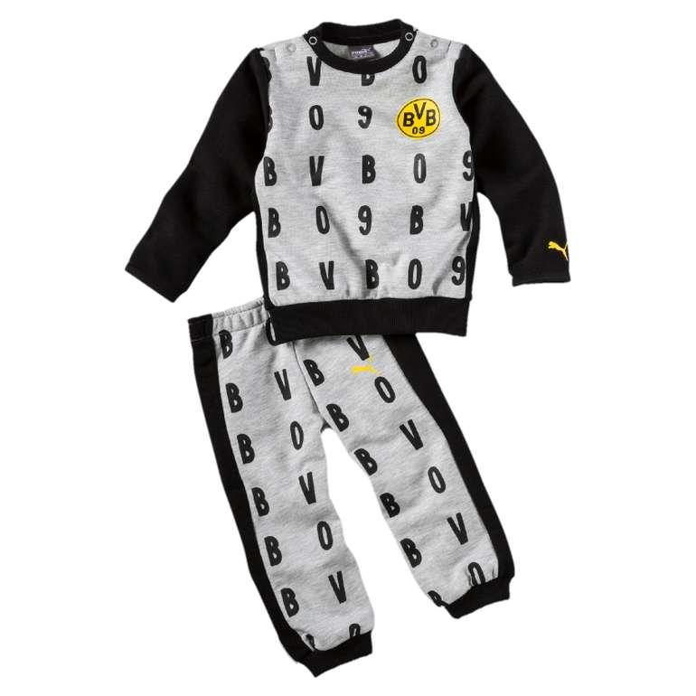 Puma BVB Borussia Dortmund - Minicats Kinder Jogginanzug für 17,99€ inkl. Versand (statt 28€)