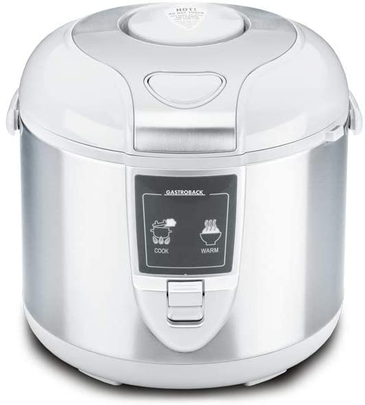 Gastroback 42507 Reiskocher (Abschalt-und Warmhaltefunktion, 3 Liter, 45W) für 42,15€ inkl. Versand (statt 50€)