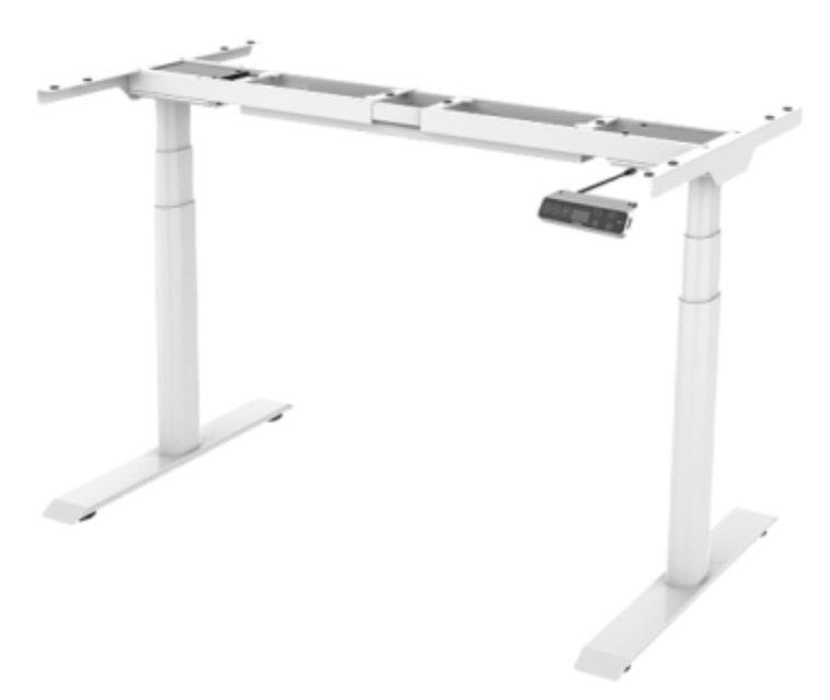 FlexiSpot E8 höhenverstellbares Schreibtischgestell bis 125kg inkl. 4-Memory-Speicherplätze für 309,99€