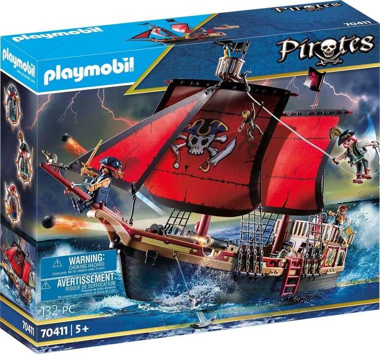 Playmobil Pirates 70411 - Totenkopf-Kampfschiff für 49,78€ (statt 68€)