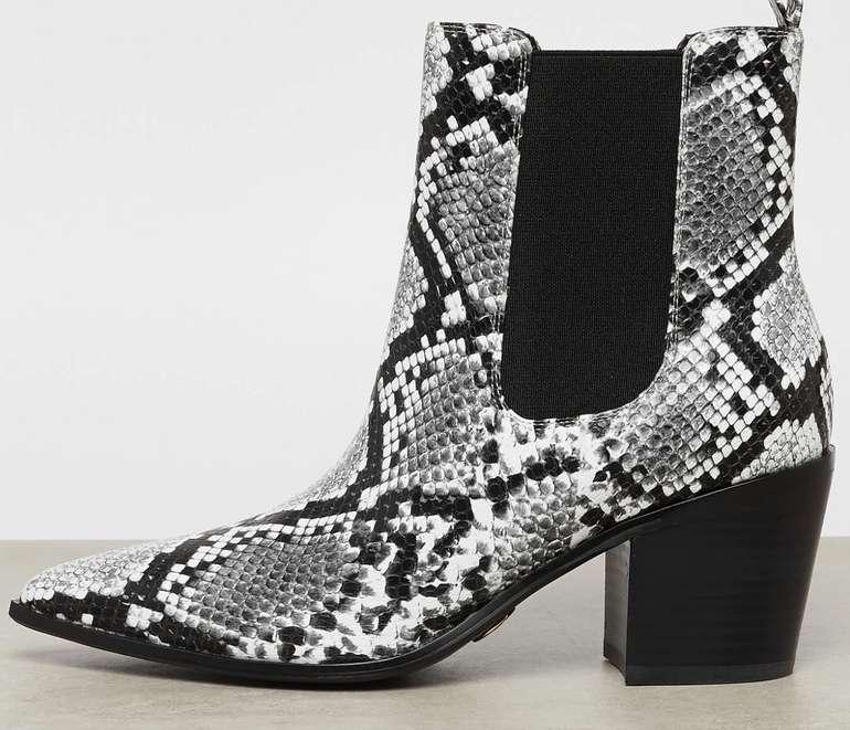 Buffalo Frances Stiefelette in schwarz/weiß für 19,58€inkl. Versand (statt 39€) - Größe 36 bis 38