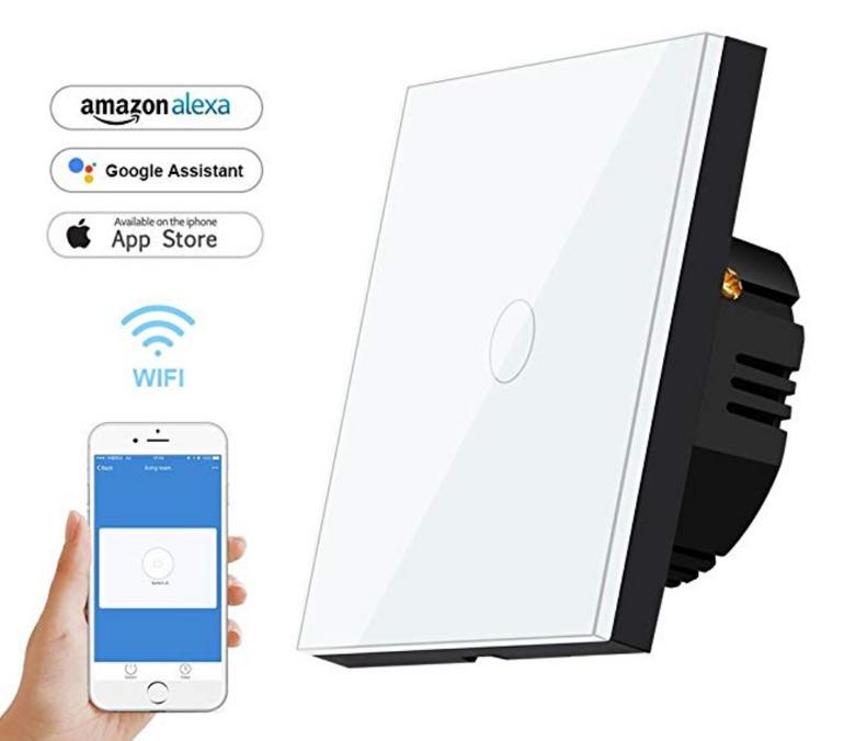 Bagotte Smart Home Lichtschalter 1-Weg für 9,49€ inkl. Versand (Prime)