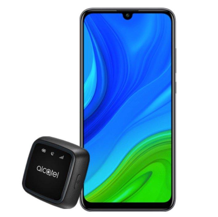 Huawei P smart 2020 mit 128GB Speicher + Alcatel Movetrack (8,13€) + o2 Allnet Flat mit 5GB LTE für 12,49€ mtl.