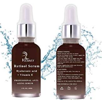 Vsadey - 30ml Retinol Anti-Aging Gesichts-Serum ab 8,49€ inkl. Prime (statt 17€)