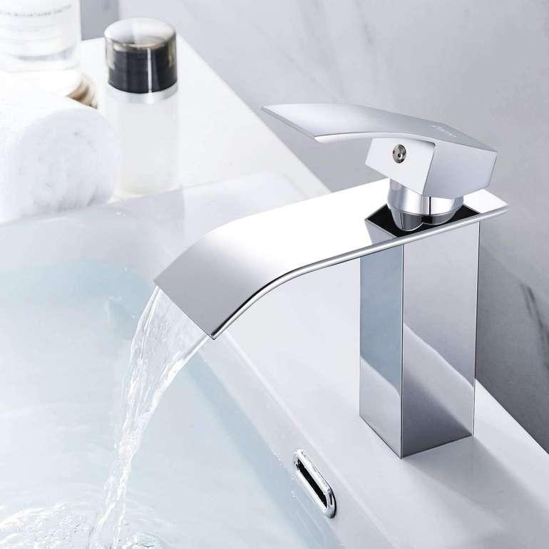 Dalmo DBWF01FA Waschtischarmatur bzw. Wasserfall Wasserhahn für 25,99€ inkl. Versand (statt 40€)