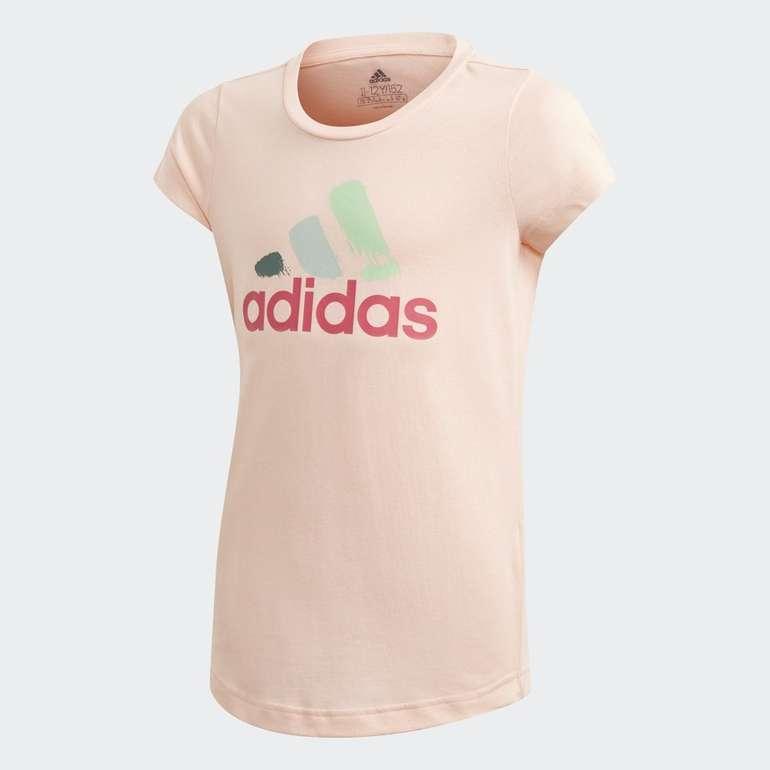 Adidas Graphic Mädchen T-Shirt für 10,17€ inkl. Versand (statt 17€) - Creators Club!