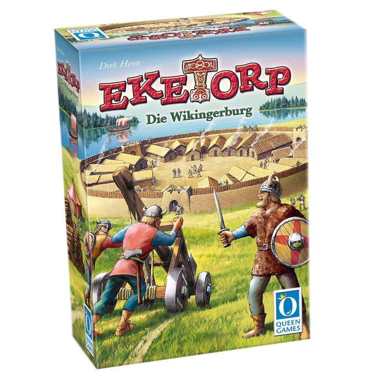 """Queen Games Gesellschaftsspiel """"Eketorp - Die Wikingerburg"""" für 9,99€"""