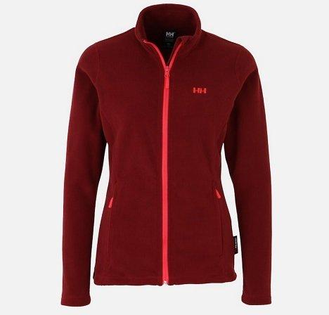 Helly Hansen Damen Fleece-Jacke 'Daybreaker' in Weinrot für 31,41€ inkl. VSK
