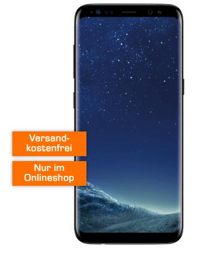 Samsung Galaxy S8 für 29€ + Vodafone Tarif mit 1GB für 19,99€ mtl.