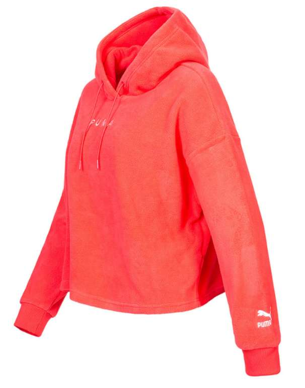 Puma XTG Fleece Hoodie Damen Kapuzen Sweatshirt in rot für 26,94€ inkl. Versand (statt 35€)