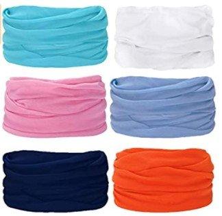 Uribaky 6er Pack Schlauchtücher in verschiedenen Farben ab 6€ inkl. Versand (statt 20€)
