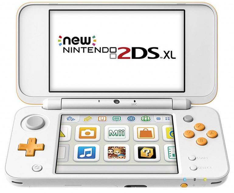 New Nintendo 2DS XL in weiss/orange für 114,63€ inkl. Versand (statt 126€)