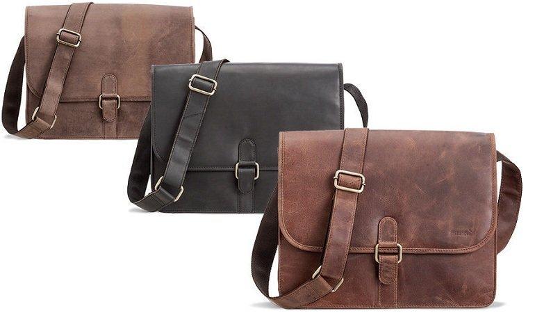 Packenger Aslang Leder-Umhängetasche für 69,90€ inkl. Versand
