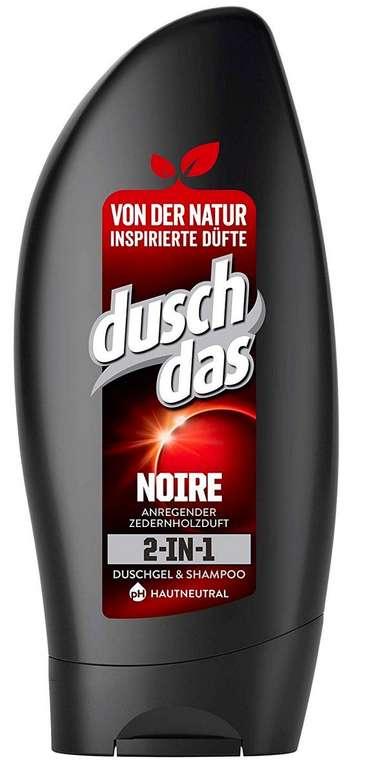 Duschdas 2-in-1 Duschgel & Shampoo (6 x 250 ml) Noire oder Blühend Schön ab 3,29€ mit Primeversand - Plus Produkt
