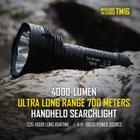 Nitecore TM16 - Hochleistungs LED Taschenlampe mit 4000 Lumen für 96,75€