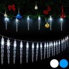 Eiszapfen-LED-Lichterkette von Deuba für 12,95€ inkl. Versand