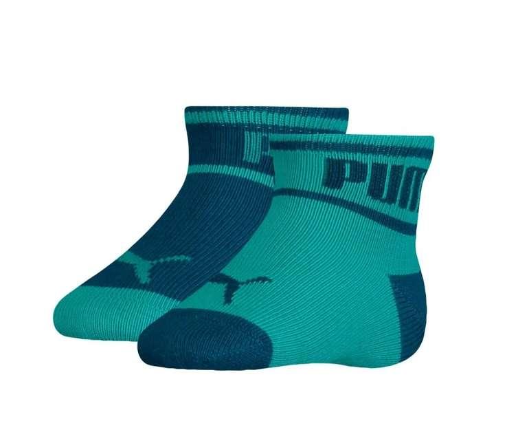Puma Baby Wording Socken im 2er Pack für 3,36€ inkl. Versand (statt 10€)