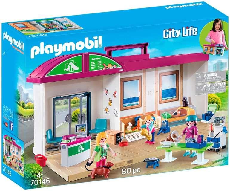 Playmobil City Life - Mitnehm-Tierklinik (70146) für 30,94€ inkl. Versand (statt 40€)