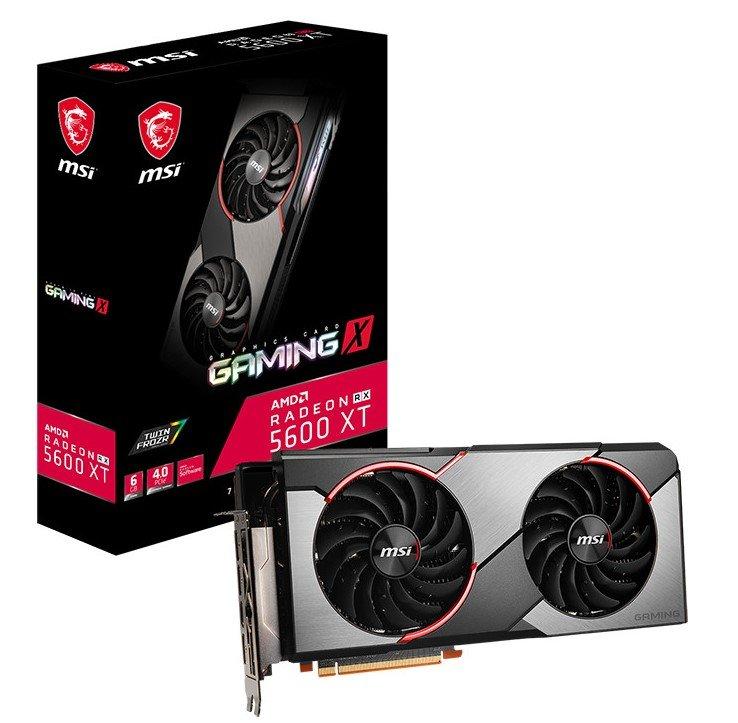 MSI Radeon RX 5600 XT Gaming X AMD Grafikkarte für 247,91€ (statt 303€)