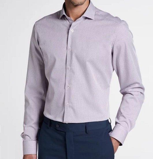 Eterna: 50% Rabatt auf 4 Herren Hemden, z.B.  Weinrot/Weiss ab 26€ (statt 50€)