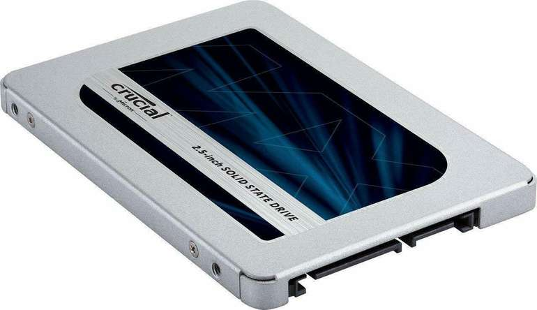 Crucial MX500 SSD mit 2TB Speicher für 155,99€ inkl. Versand (statt 191€)
