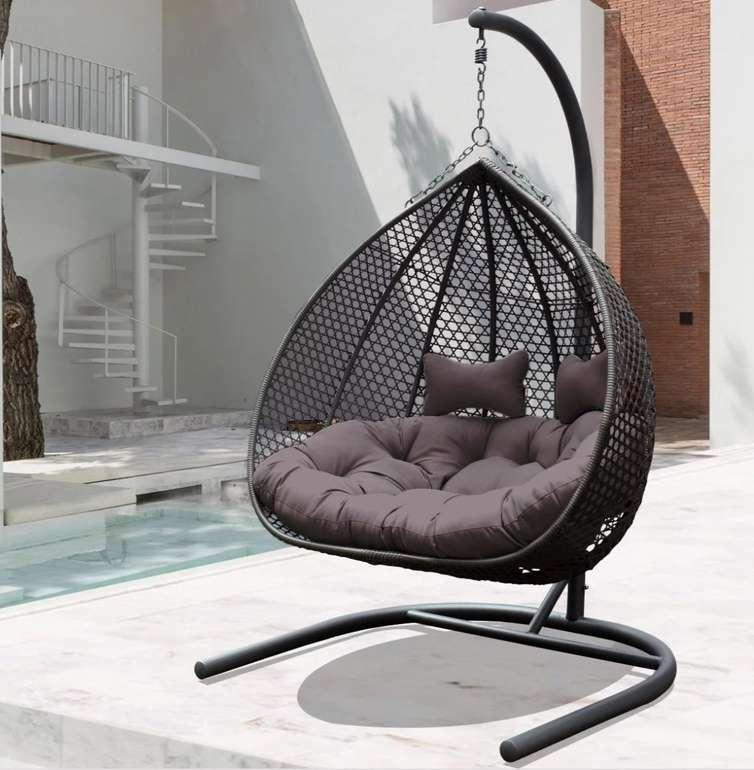 Bessagi Garden Hängesessel Bari (2-Sitzer, max. 240kg) für 258,30€ inkl. Versand (statt 350€)