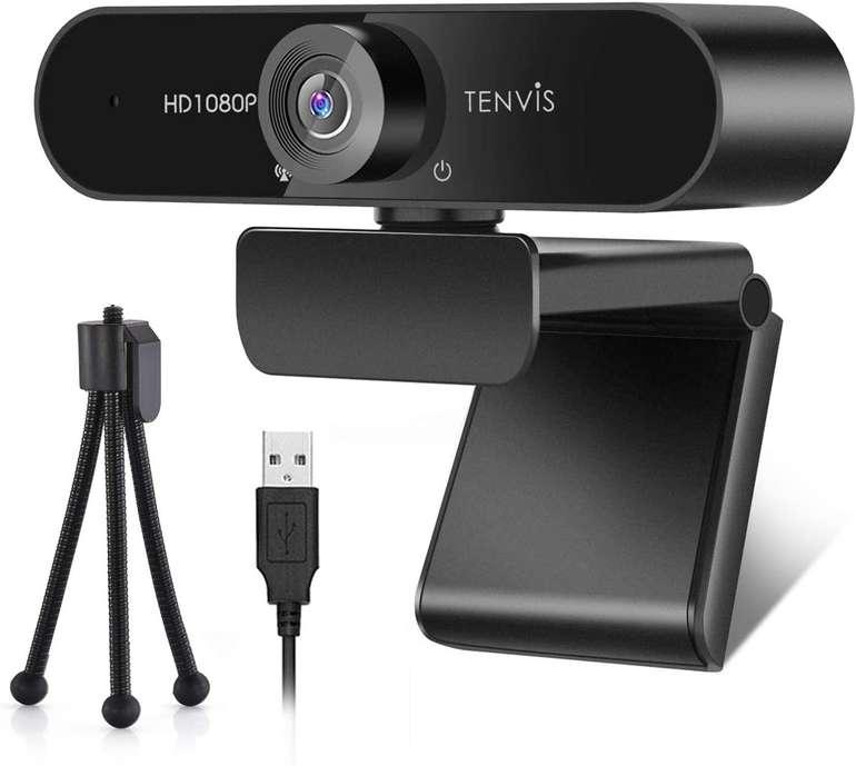 Tenvis 1080P Webcam mit Mikrofon für 17,99€ inkl. Versand (statt 40€)