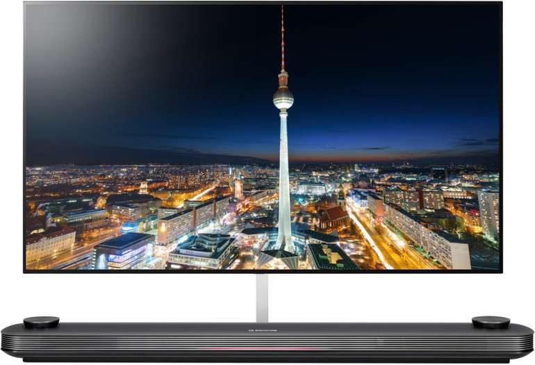 LG Signature OLED65W9 – 65 Zoll UHD OLED Smart-TV inkl. Soundbar für 2.987,41€ (statt 4.499€)