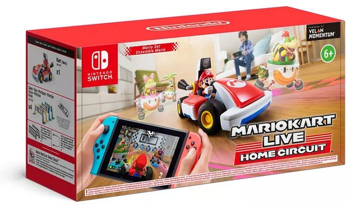 Mario Kart Live: Home Circuit - Mario (Nintendo Switch) für 70,39€ inkl. Versand (statt 93€)