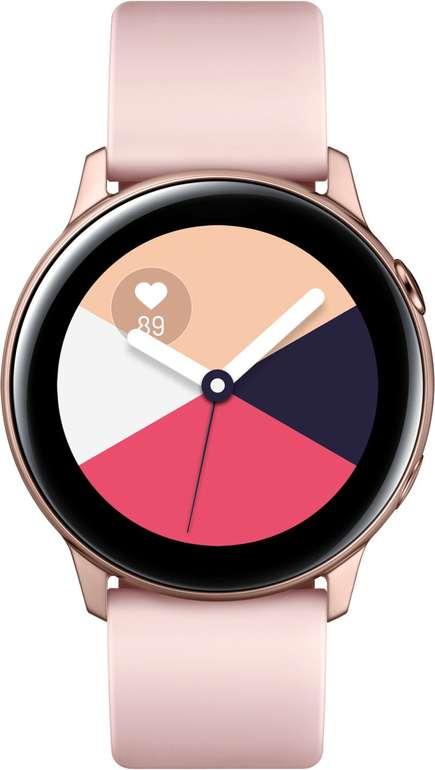 Samsung Galaxy Watch Active in 4 Farben für je 129€ inkl. Versand (statt 159€)