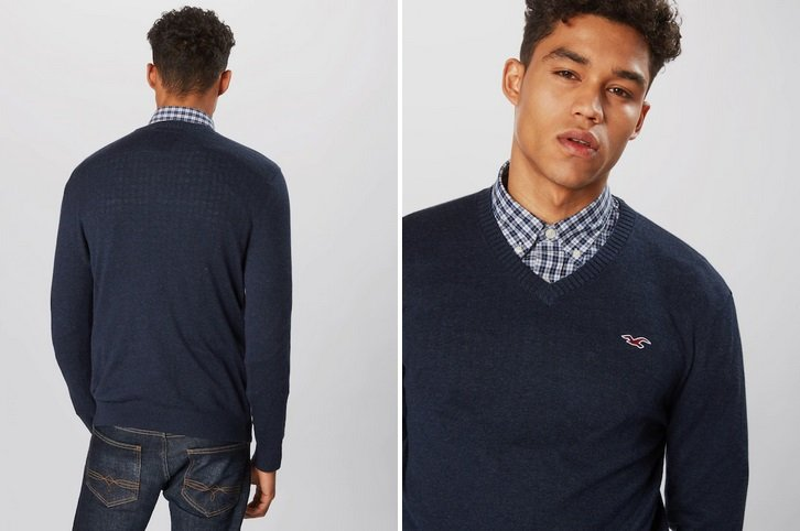 Hollister Pullover 'Core' in navy