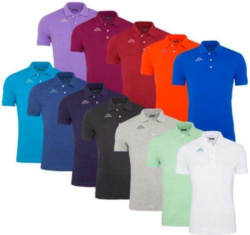 Kappa Pique Poloshirts für je 9,99€ inkl. Versand (Restgrößen für Herren)