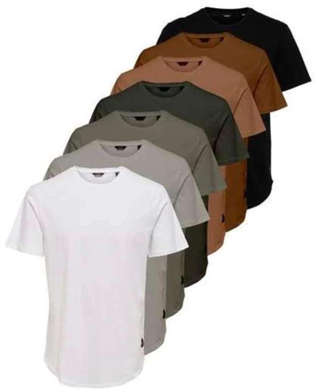 Tara-M: 25% Rabatt auf Multipacks (T-Shirts & Boxershorts & Jeans), z.B. 7er Pack Only & Sons T-Shirts für 49,49€