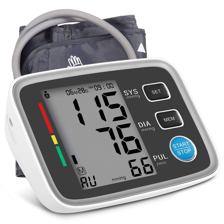 Hizek Oberarm Blutdruckmessgerät mit Großbild-Display für 16,50€ inkl. Prime (statt 24€)
