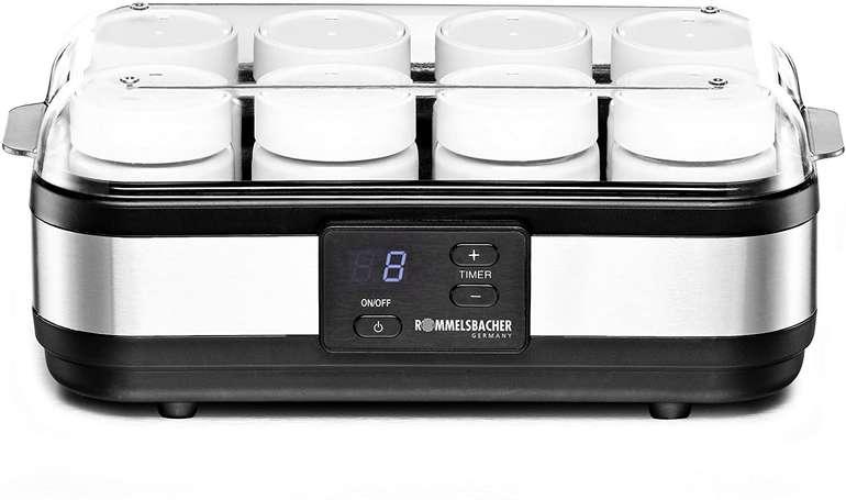 Rommelsbacher Joghurtbereiter JG 40 (für bis zu 1200g, LCD-Display, automatische Abschaltung) für 34,94€