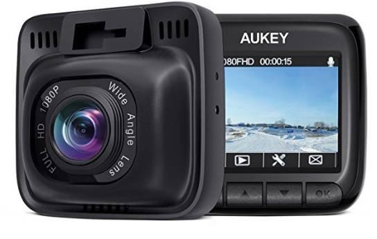 Aukey DR01 Full-HD Auto Dashcam mit 170° Weitwinkel für 43,99€ (statt 50€)