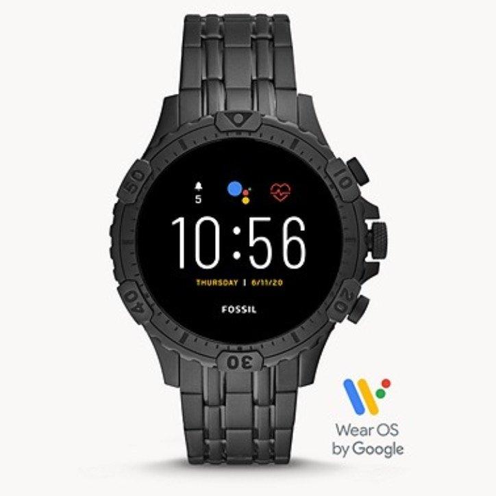 Fossil: 30% Rabatt auf Smartwatches der 5. Generation – z.B. Modell Garrett HR Edelstahl für 209€ (statt 294€)