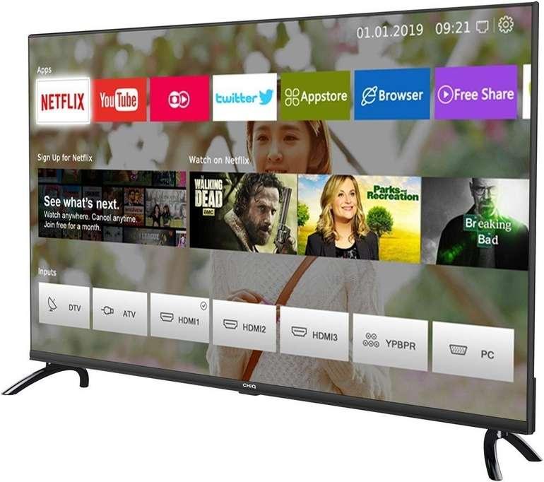 """CHiQ U43H7L - 43"""" Smart TV (UHD 4K, WLAN, Triple Tuner) für 255,79€ inkl. Versand (statt 285€)"""